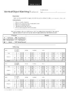 Identical matching aba data sheet