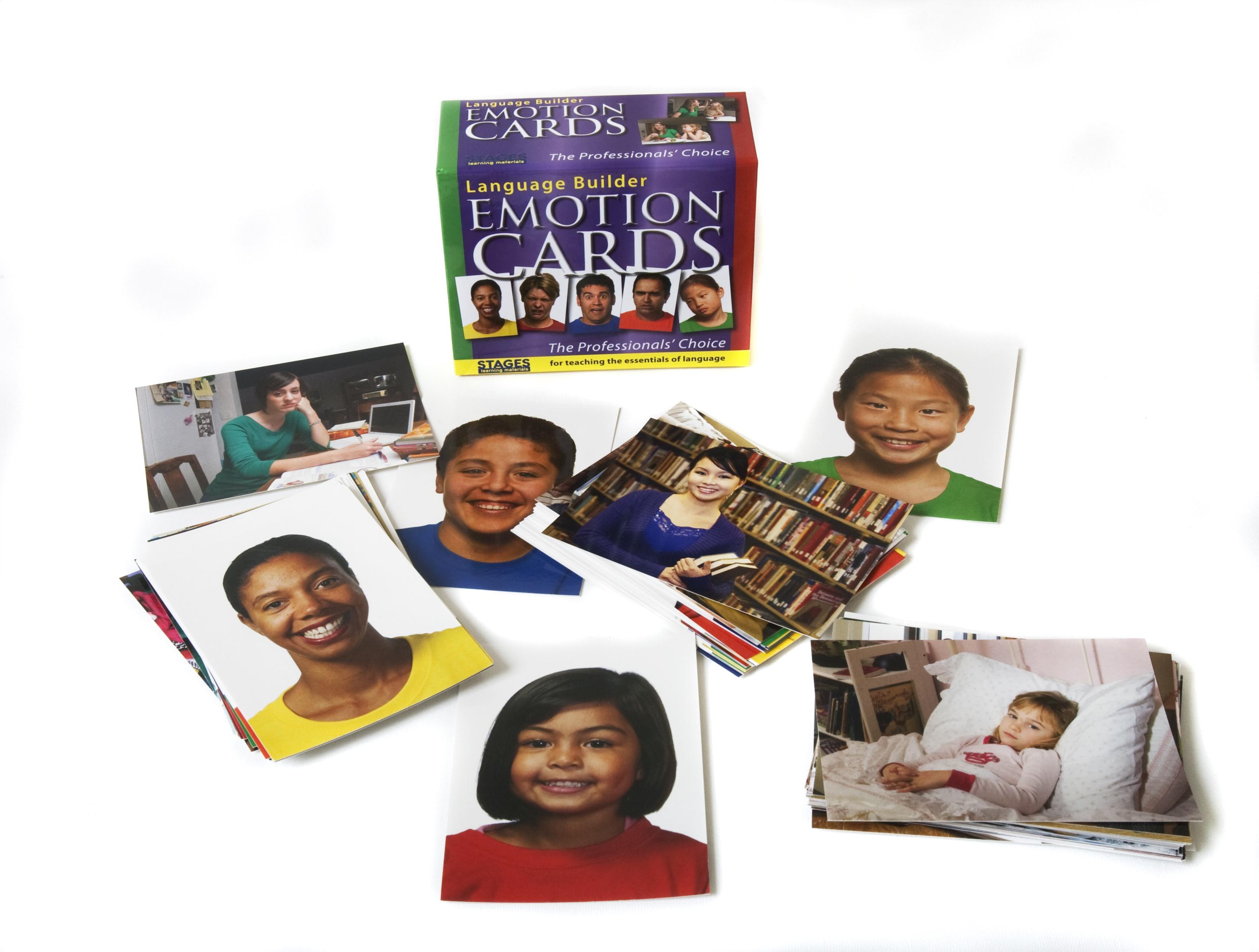Language Builder Emotion Cards for Autism Education